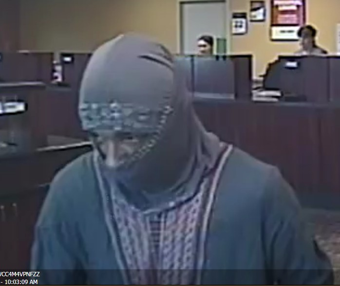 Bank Robbery Suspect Arrested