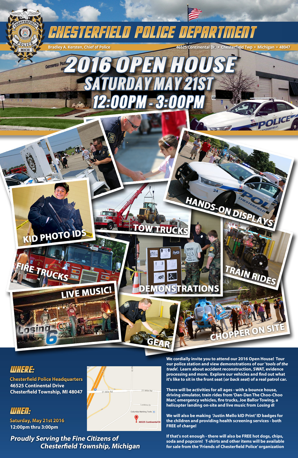 2016 Chesterfield Police Open House