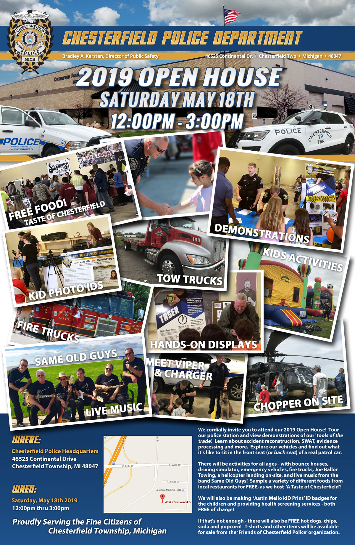 2019 Chesterfield Police Open House – Sat. May 18th