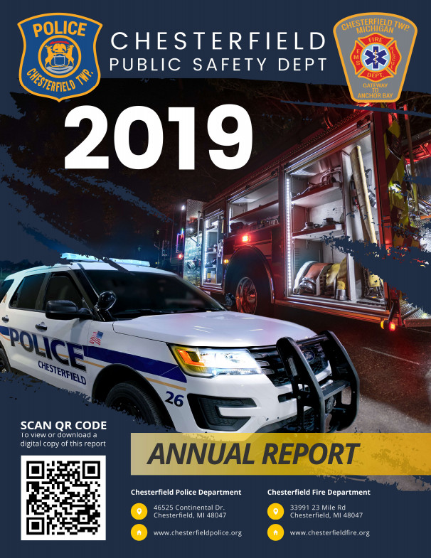 2019 Chesterfield Public Safety Annual Report