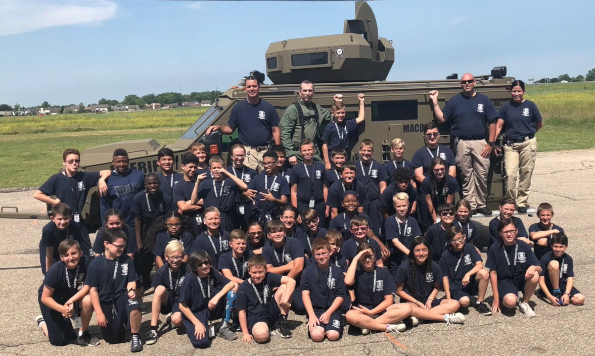 Registration for the 2021 Junior Public Safety Academy is open until July 26th.  Learn more at <a href=