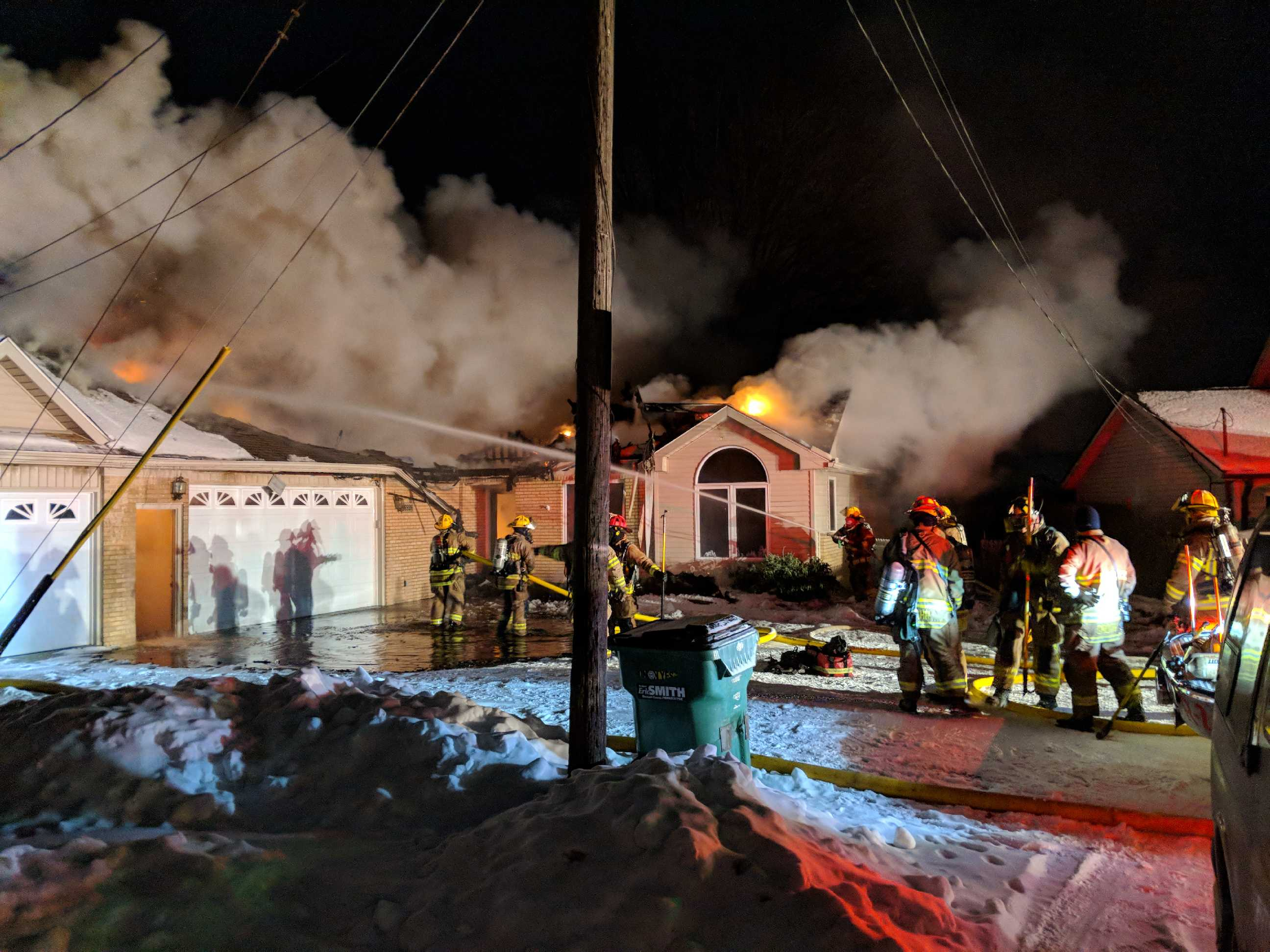 Fire Destroys Vacant Home