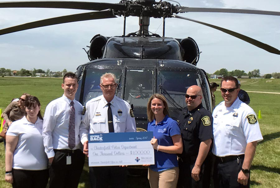 Chesterfield Police Receive Donation