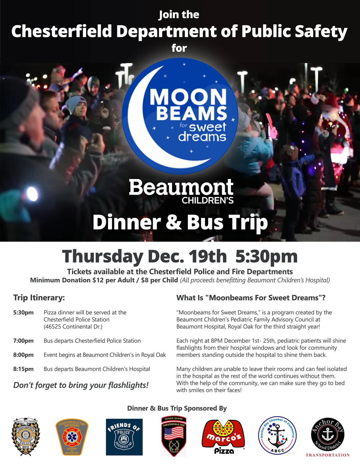 Moonbeams For Sweet Dreams 12/19