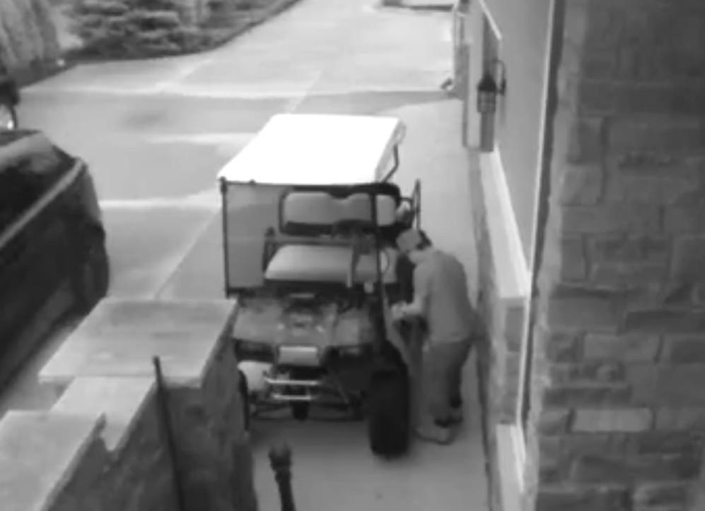 Attempted Golf Cart Theft