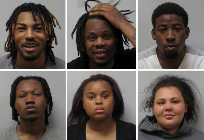Six Arrested For Home Invasion