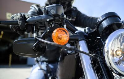 biker closeup