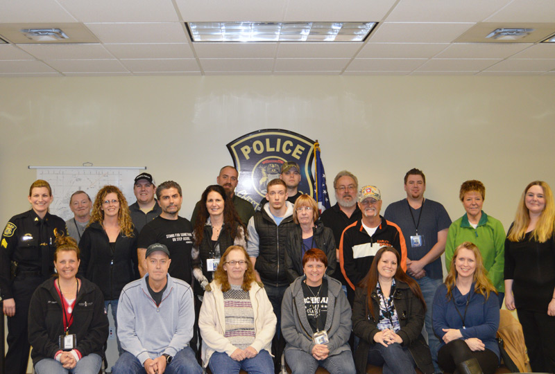 Chesterfield Police Fall 2016 Citizen's Police Academy