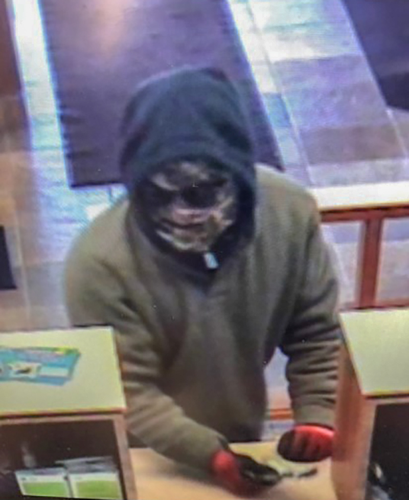 First State Bank Robbery Suspect